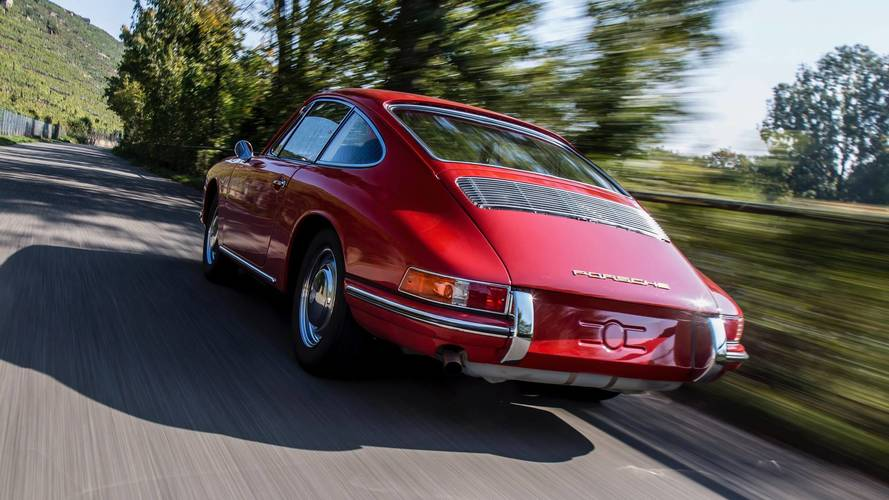 Porsche 911 au Porsche Museum
