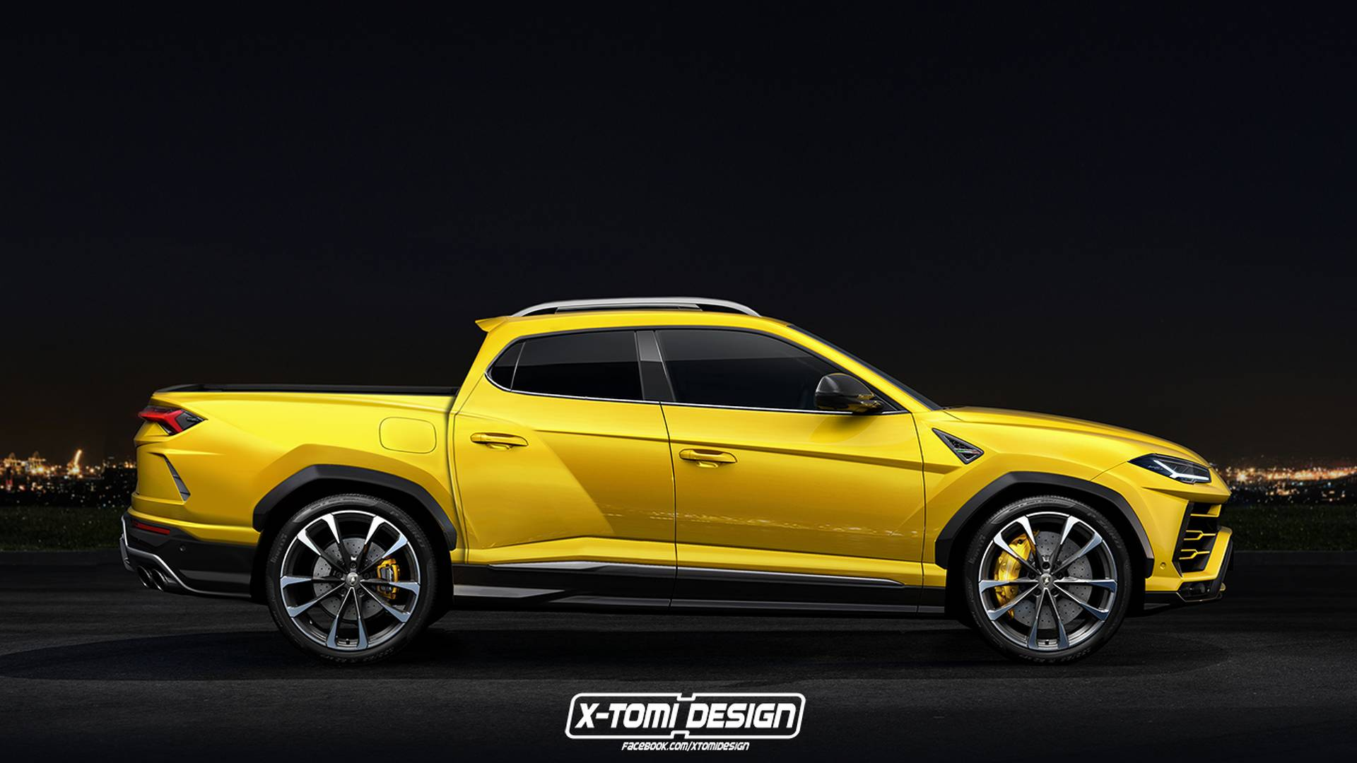 Lamborghini Urus Pickup Rendered Just For Fun