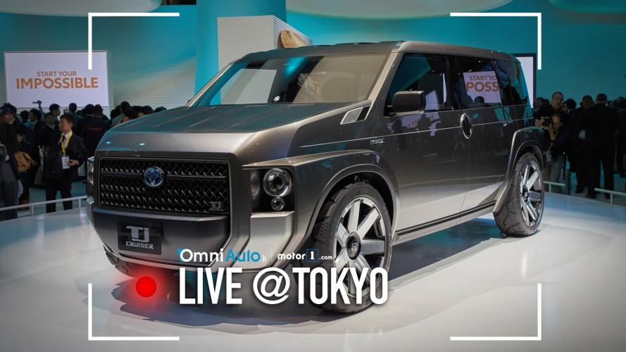 Toyota Tj Cruiser, quando SUV e van si incontrano
