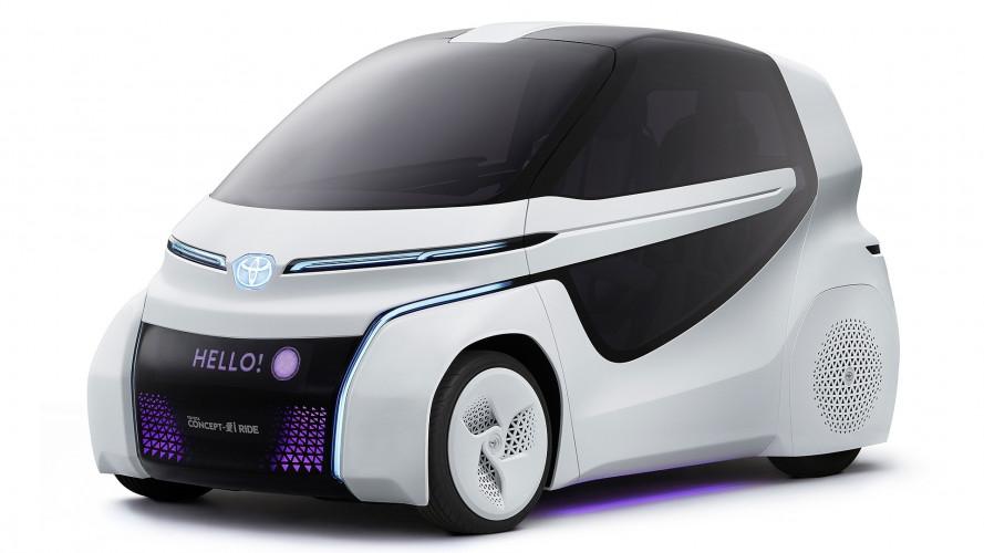 Toyota Concept-i Ride, la mobilità è un diritto
