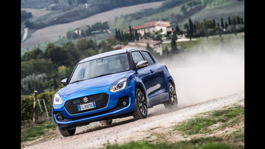 "Suzuki Swift, ecco la 4x4 ""microibrida"""