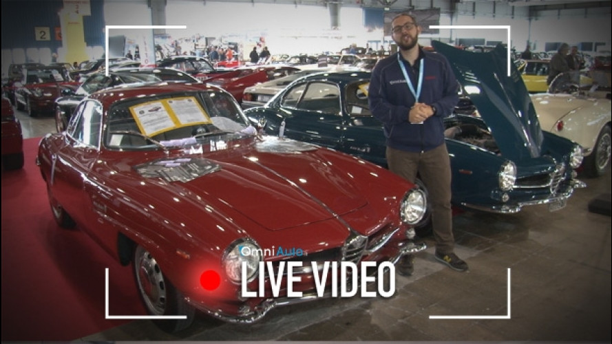 Alfa Romeo Giulia, quelle d'epoca a Verona Legend Cars [VIDEO]