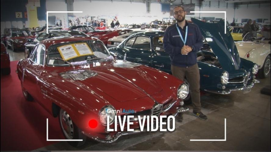 Alfa Romeo Giulia, quelle d'epoca a Verona Legend Cars [VIDEO]