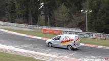 Vans at the Nurburgring