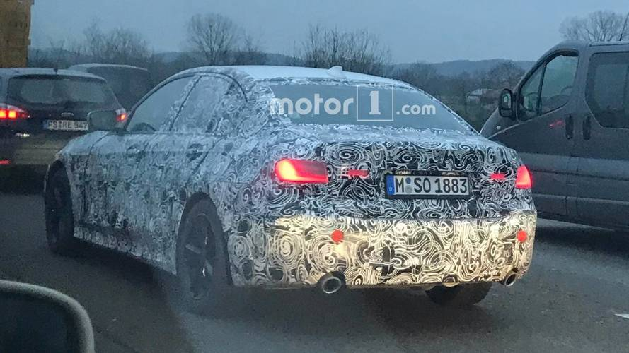 2019 BMW 3 Series spied near Munich