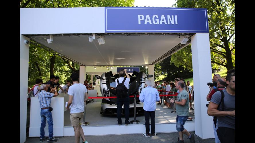Pagani a Parco Valentino 2017