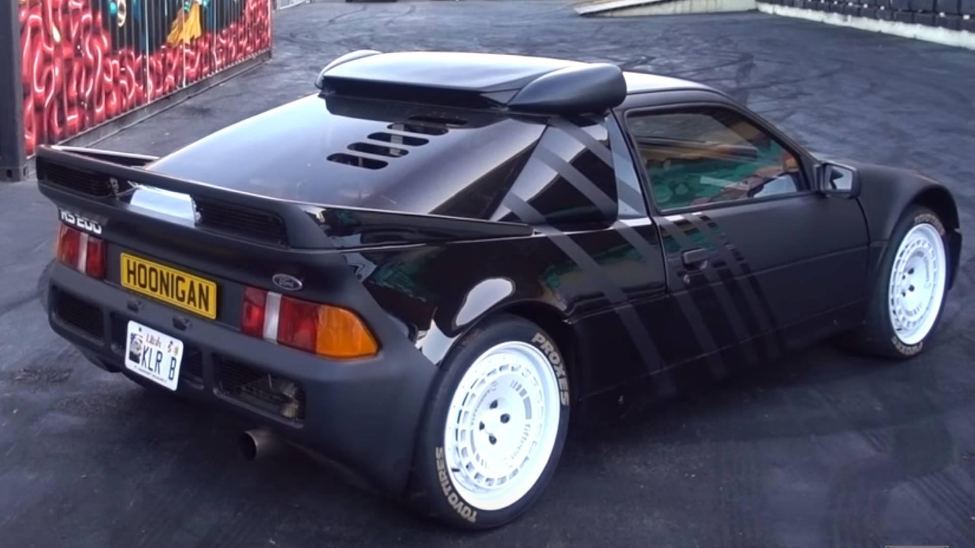 Ken block just got a ford rs200