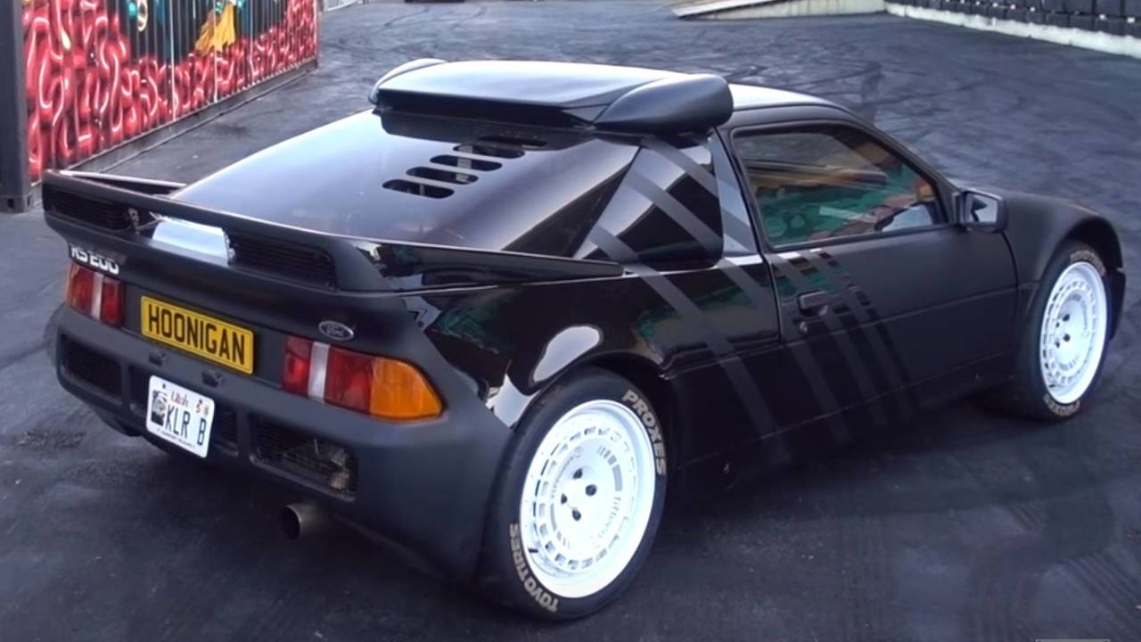 Ken Block's Ford RS200