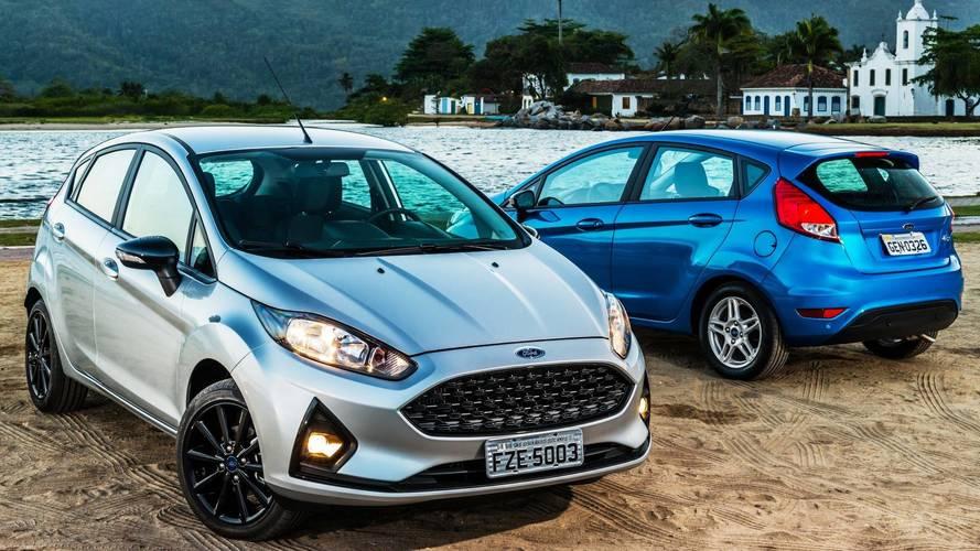 Ford Fiesta é oferecido em promoção com mais de  R$ 7 mil de desconto