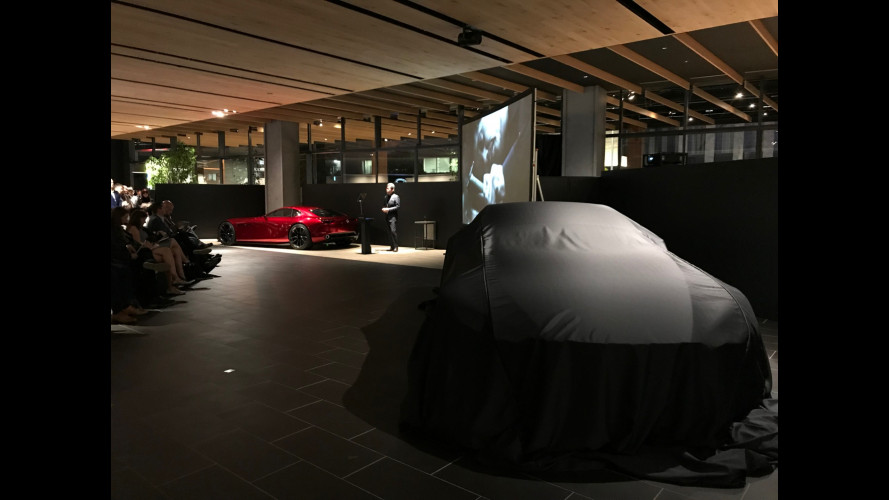Mazda Vision Coupé, minimal è bello