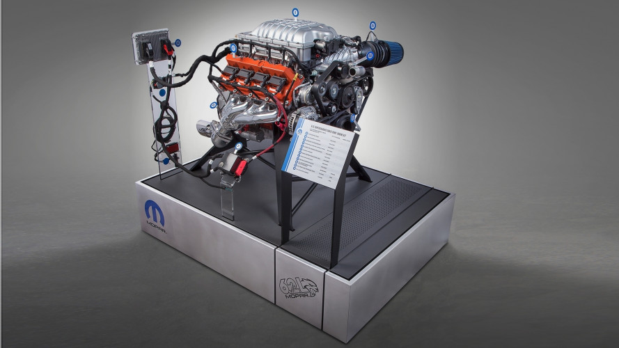 FCA al SEMA con il kit per il V8 fai da te