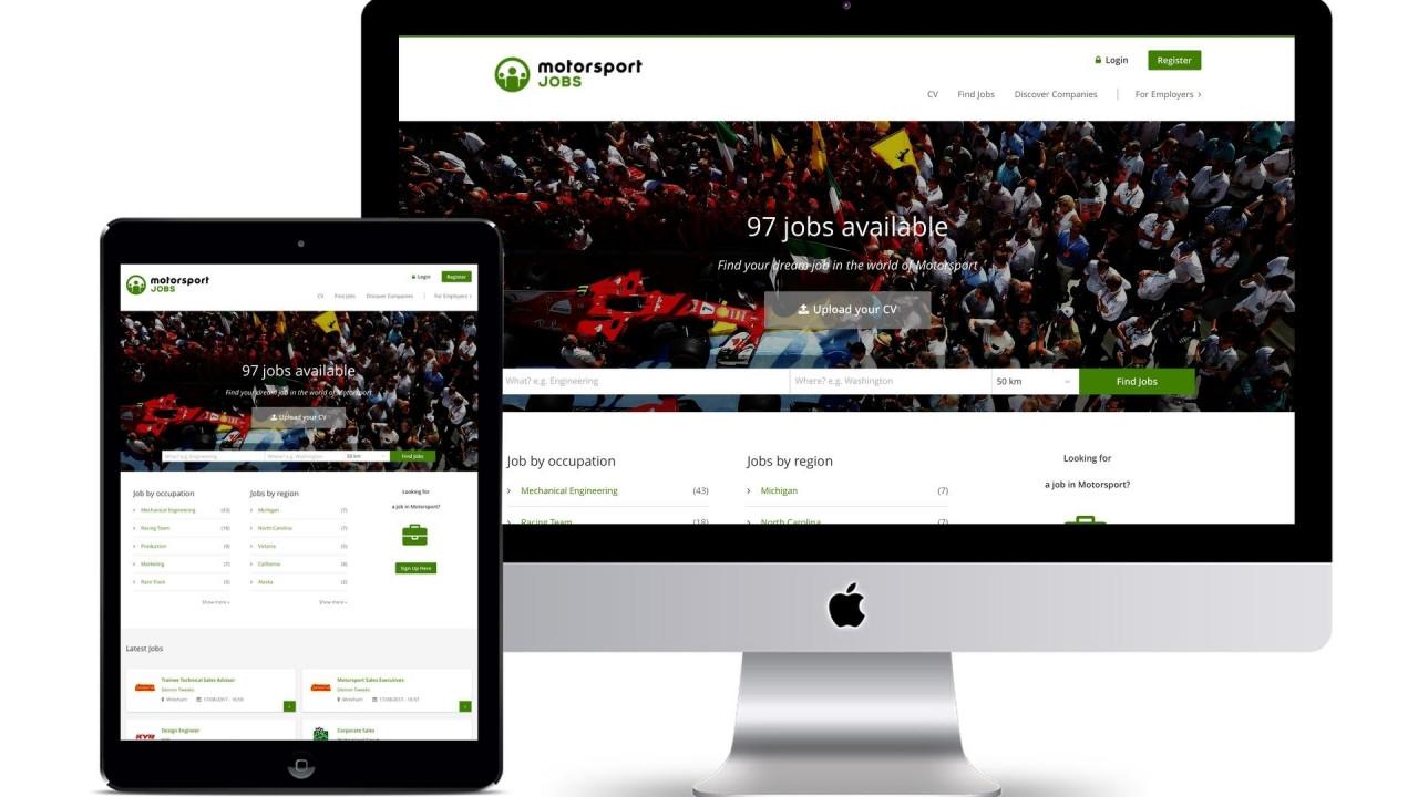 [Copertina] - Motorsportjobs, arriva il sito per trovare lavoro nel motorsport