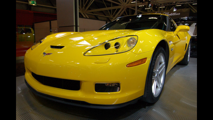Corvette al Motor Show 2006
