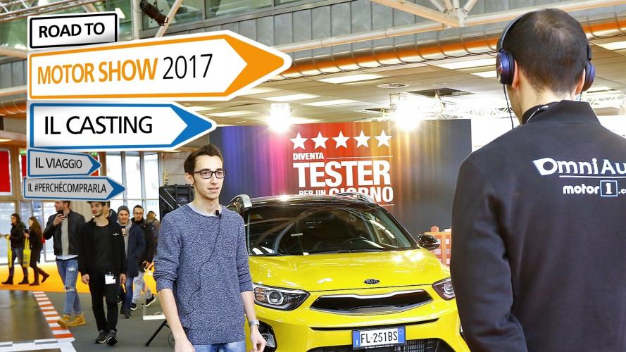 Motor Show 2017, al via i nostri LIVE casting!