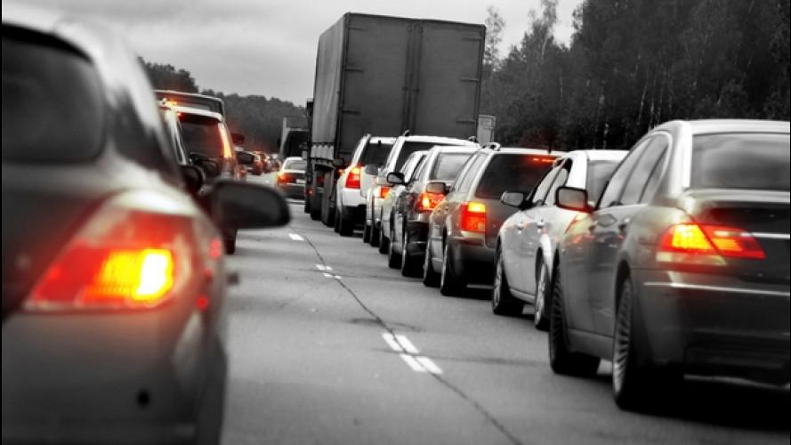 Sulle strade di tutta Italia è aumentato il traffico