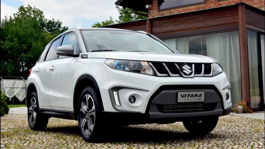 Suzuki Vitara Exclusive, il SUV si fa elegante