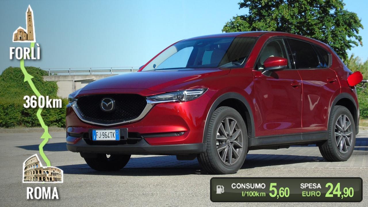 [Copertina] - Mazda CX-5 Diesel, la prova dei consumi reali