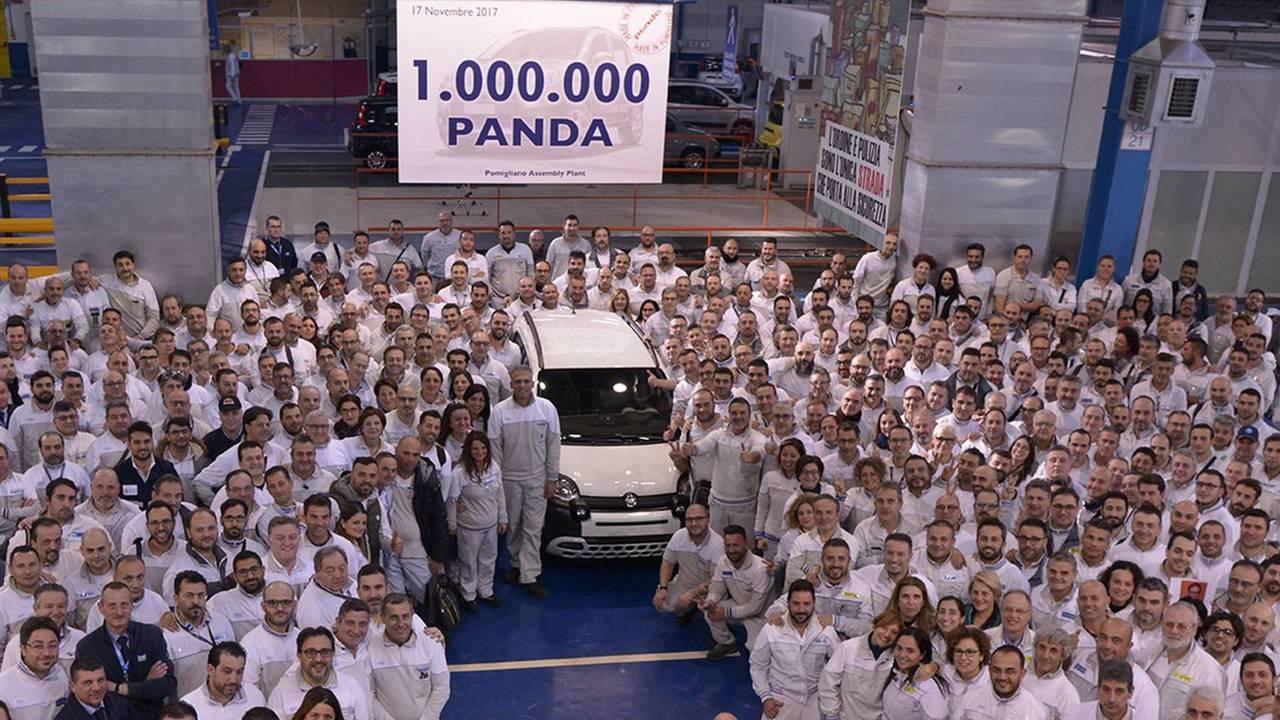 1 milyonuncu Fiat Panda