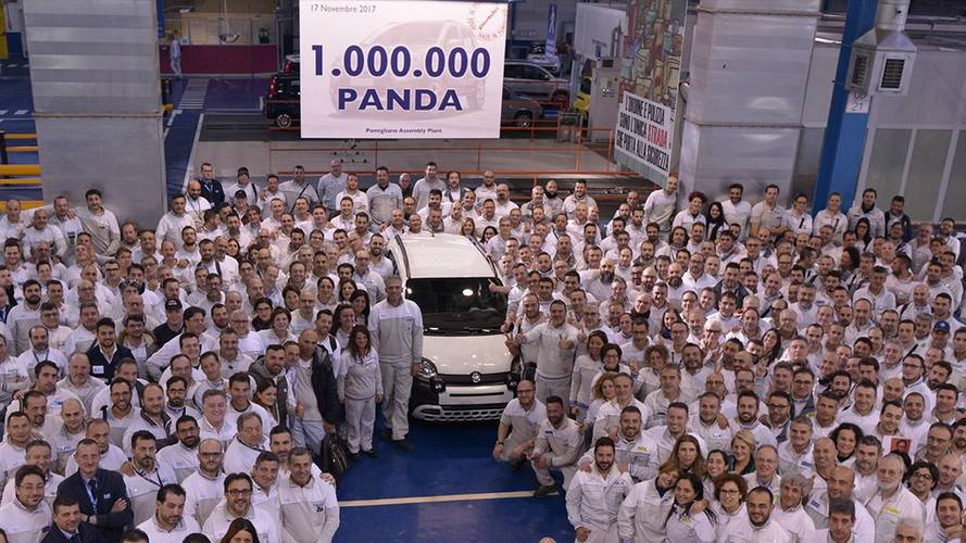 One-Millionth Current-Gen Fiat Panda Rolls Off Production Line