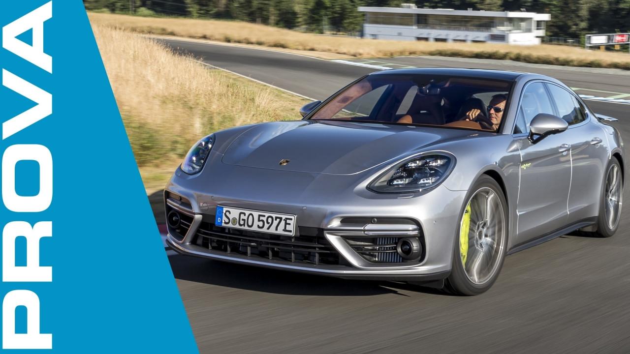 [Copertina] - Porsche Panamera Turbo S E-Hybrid, la prova della plug-in da 680 CV