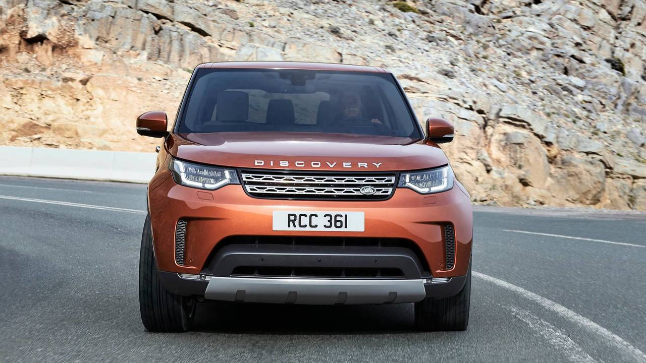 The go-anywhere one – Land Rover Discovery