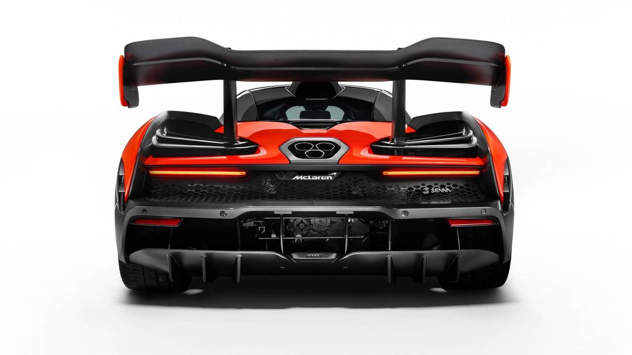 2018 McLaren Senna - Hátsó diffúzor
