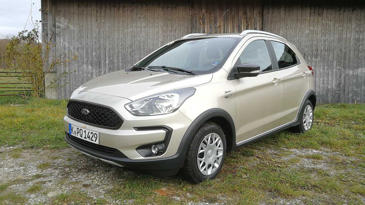 ford ka active 2018 im test. Black Bedroom Furniture Sets. Home Design Ideas