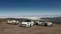 Jaguar F-Type convertido en coche de rally