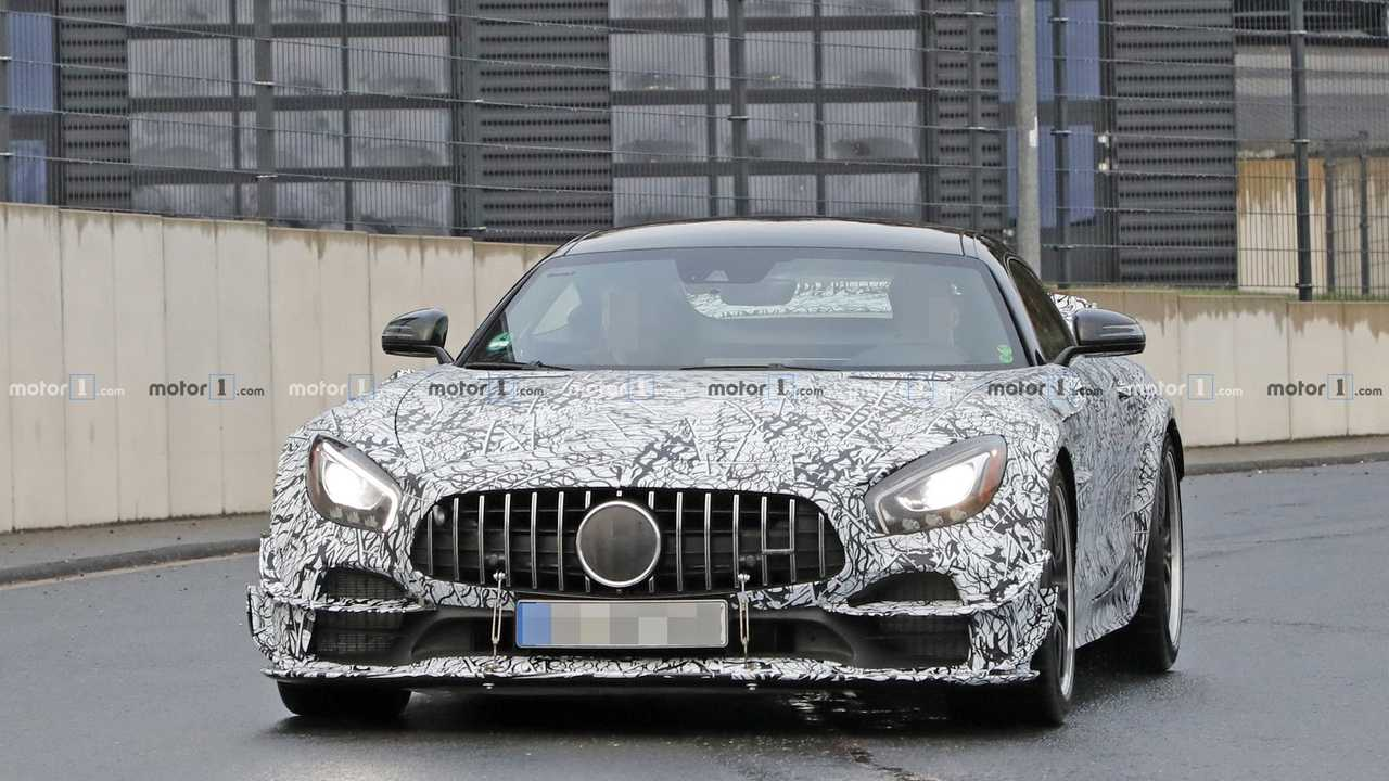 Mercedes-AMG GT R Clubsport spy photo
