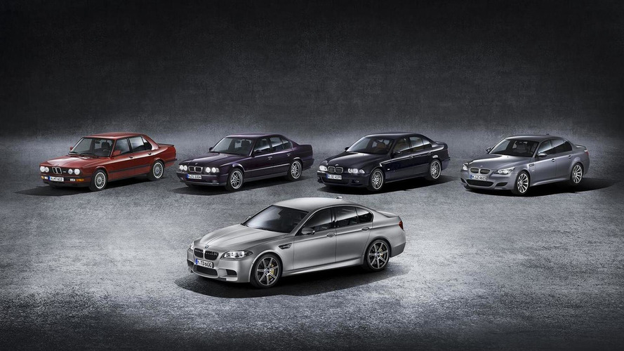 See The BMW M5's Evolution In Over 30 Years In Over 300 Images