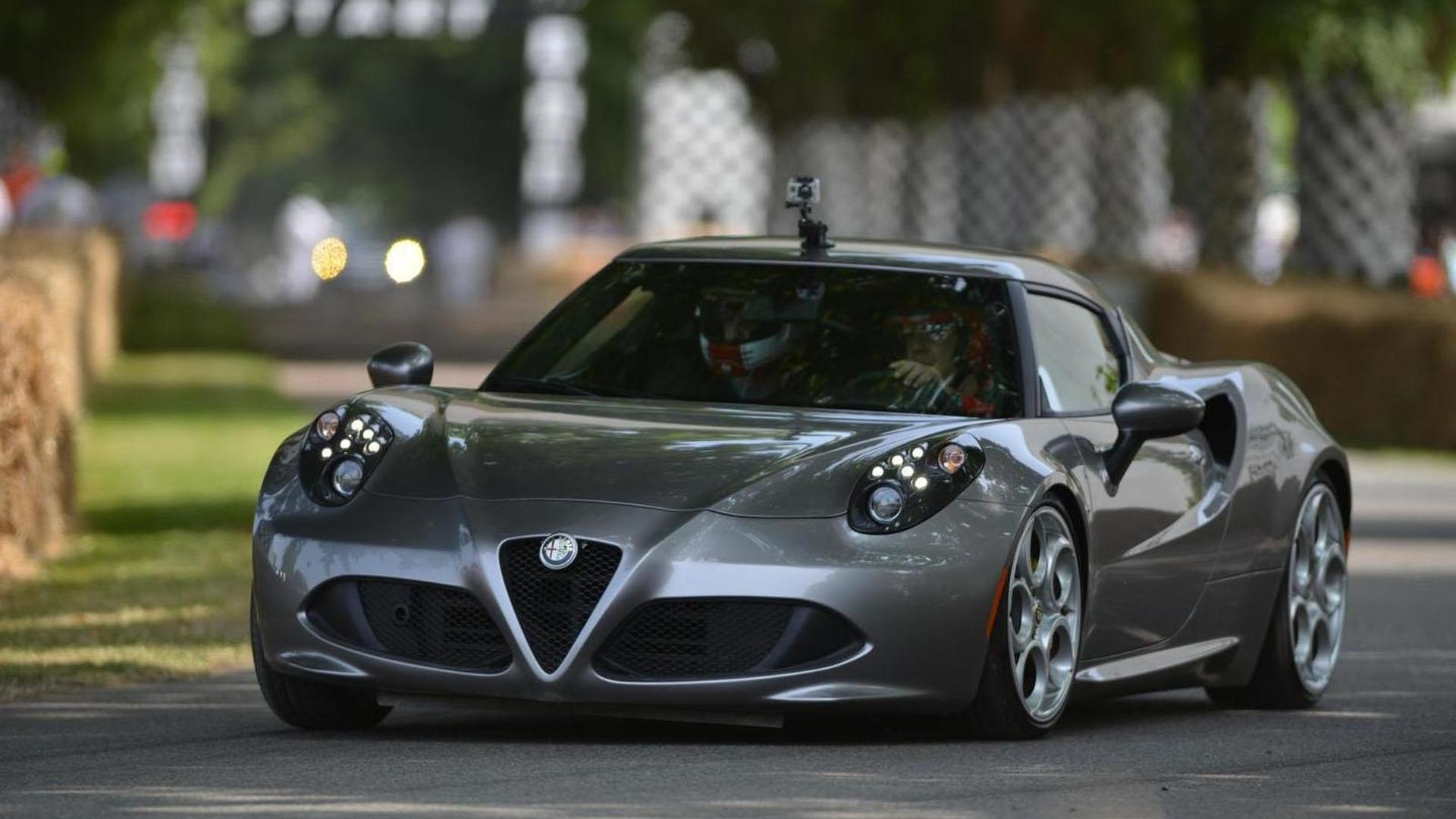 USspec Alfa Romeo C Is Lbs Fatter Than Euro Model Priced At - Price for alfa romeo 4c