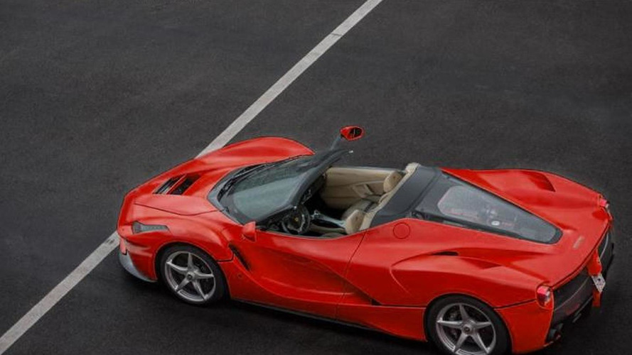 LaFerrari Spider could be limited to less than 10 units