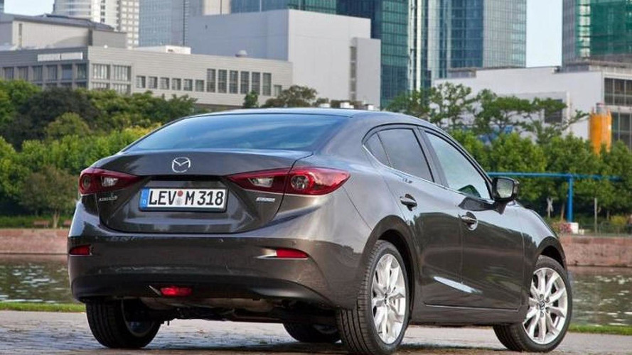 2014 Mazda3 Sedan returns in lots of official photos