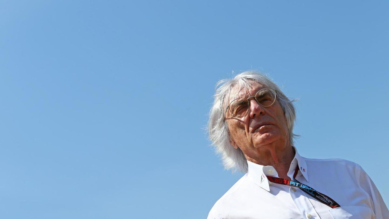 Bernie Ecclestone (GBR) CEO Formula One Group (FOM)