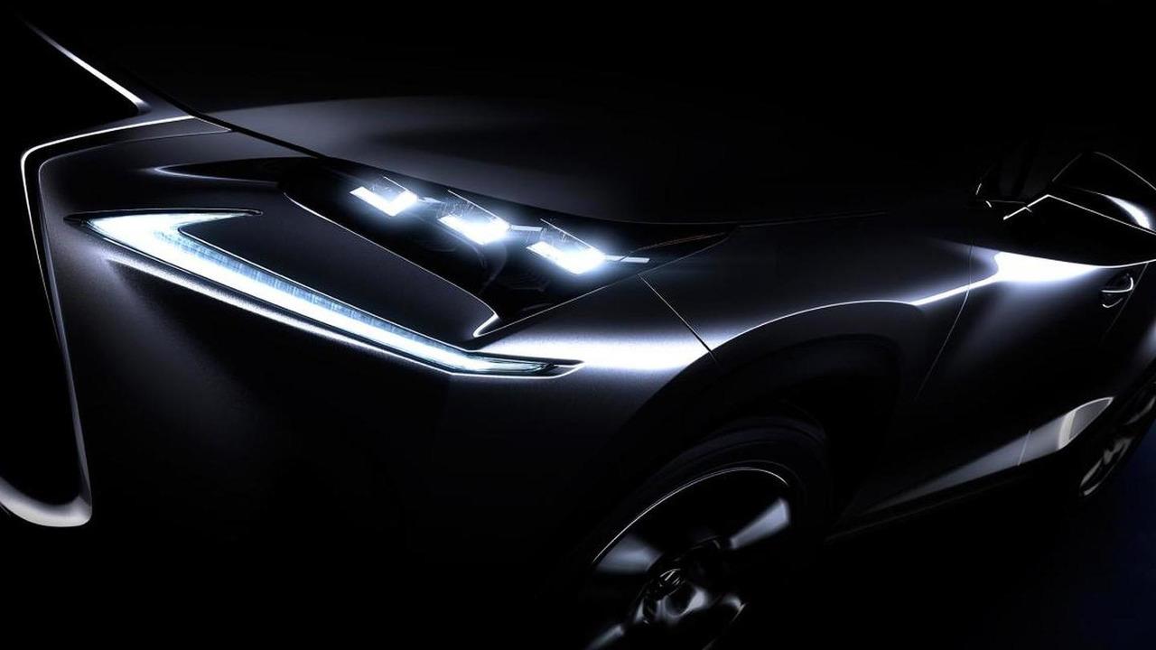 2015 Lexus NX teaser image
