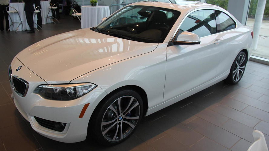 BMW fully reveals 228i Coupe with Track Handling Package [video]