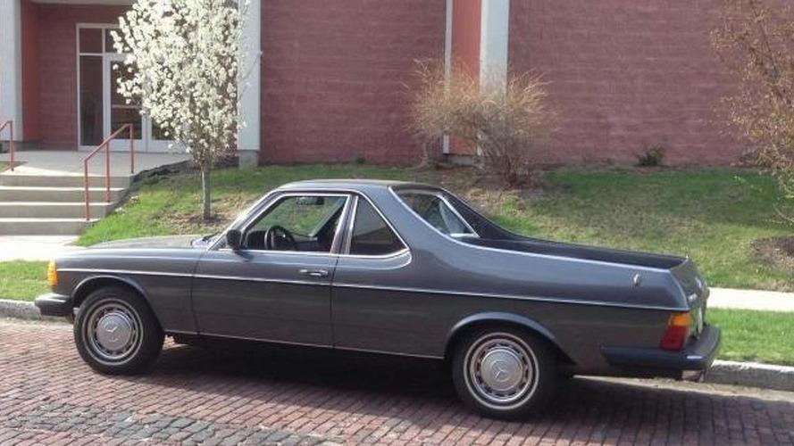 1979 Mercedes-Benz 300TD El Camino listed on eBay