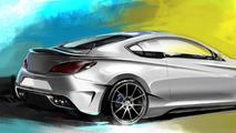 Hyundai Genesis Coupe Legato Concept 07.10.2013