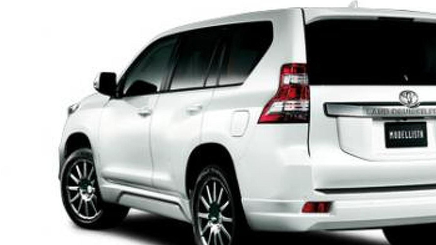 Toyota Land Cruiser Prado Modellista accessories introduced