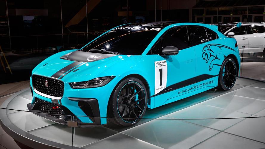 Le Jaguar I-Pace se mue en voiture de course