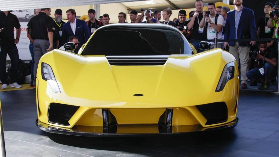 Hennessey Venom F5 - Elle vise une vitesse de pointe de 500 km/h !