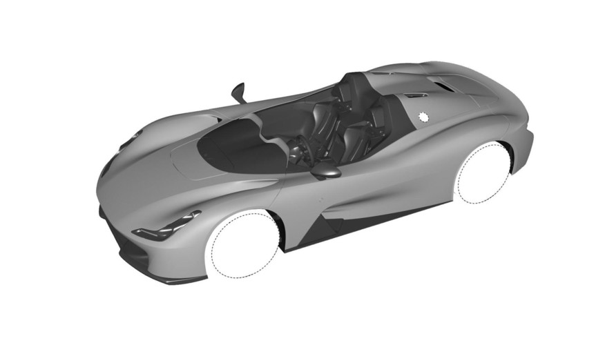 Dallara Stradale Design Sketches Reveal Multiple Body Styles