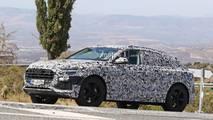 Audi Q8 spy photo