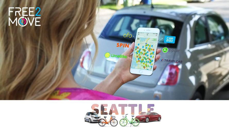 PSA Launches In U.S. Via Free2Move Ride-Share Service