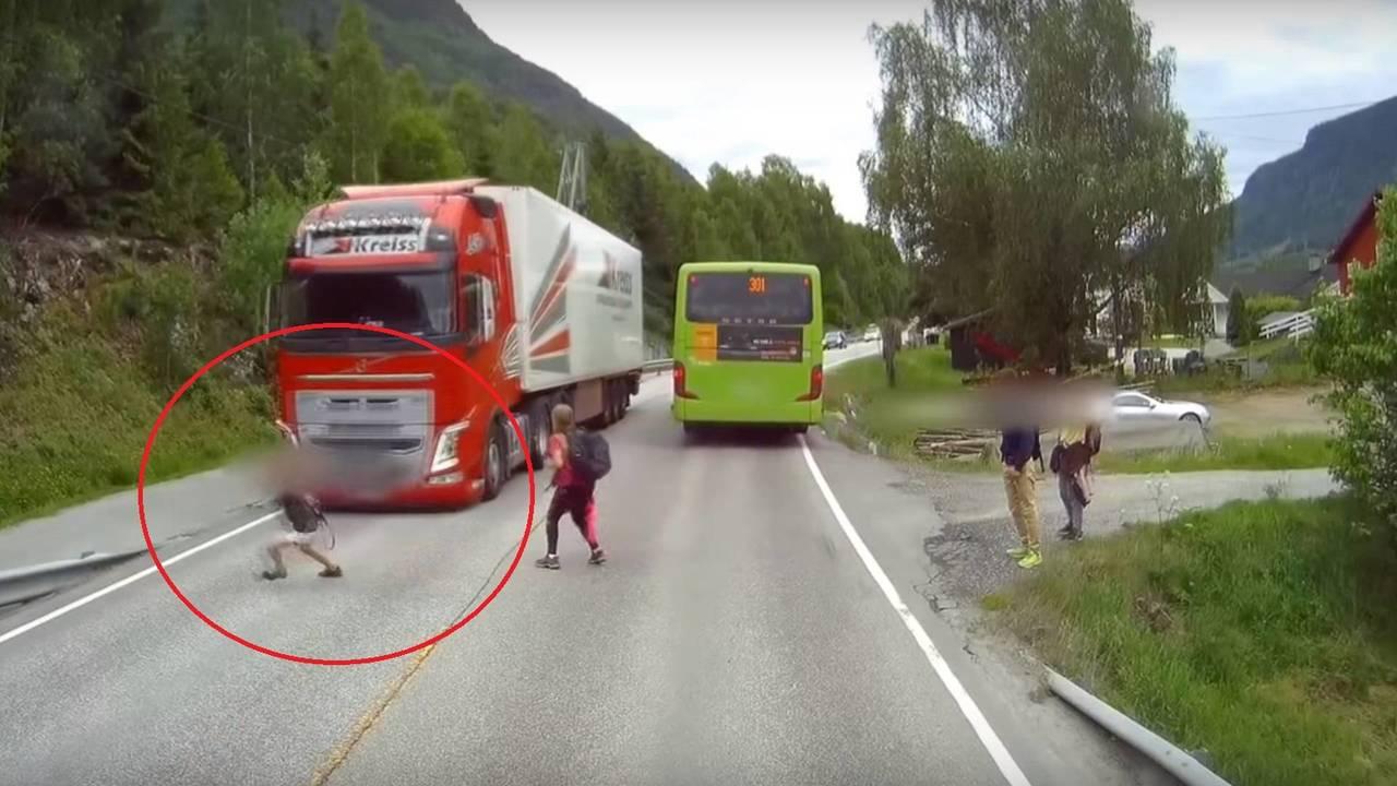 Volvo Trucks automatic emergency brake