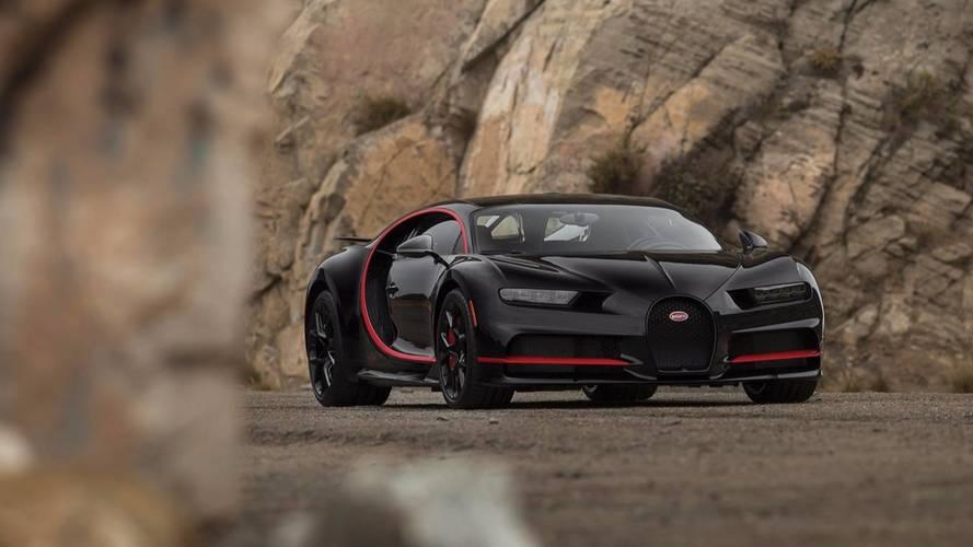Bugatti Chiron aux USA