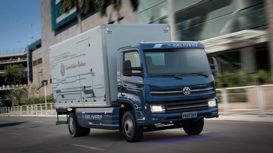 Volkswagen vai produzir caminhão elétrico no Brasil neste semestre