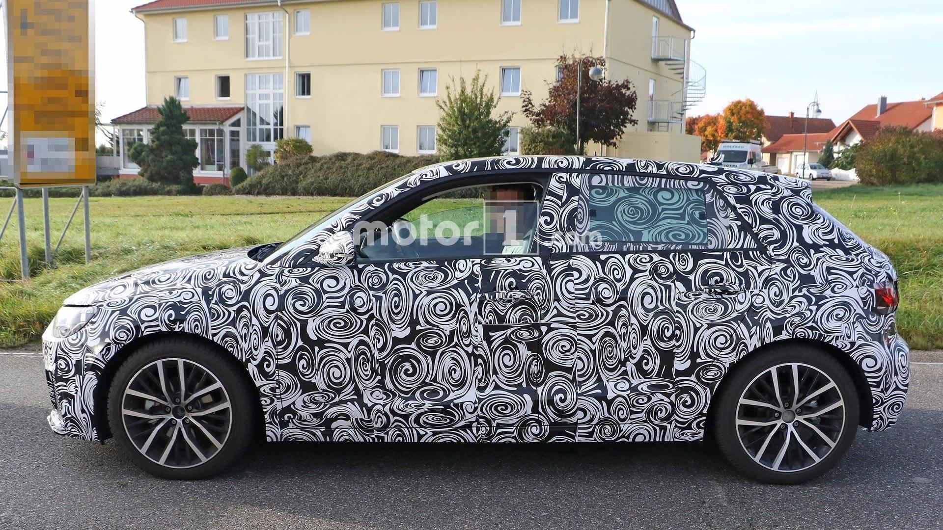Nextgeneration Audi A Spotted On Test - Audi a1 2018