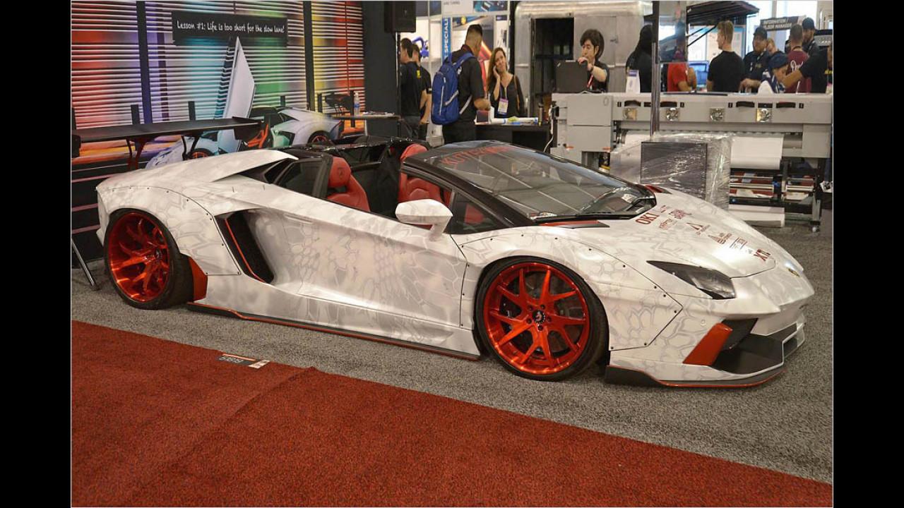 Lamborghini Aventador Roadster ,Breitbau