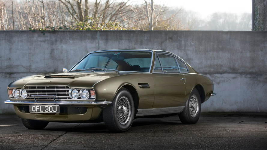 PHOTOS - L'Aston Martin DBS fête ses 50 ans !